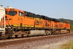 BNSF 6178 is 2nd out on the local.